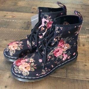 Doc Martens 1460 Victorian Floral boots